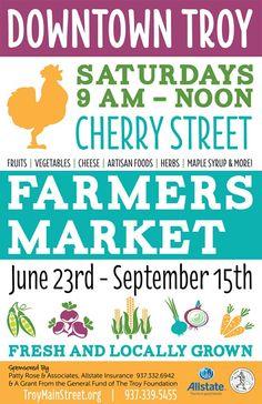 Troy Main Street - Farmers Market