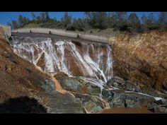 New Drone Video - Spillway Shutdown - Lake Oroville Dam Update  3-28-17