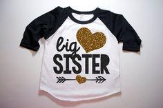 Big Sister Shirt Little Sister Shirt Kid's by HauteBelliesShop