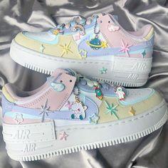 Dr Shoes, Cute Nike Shoes, Swag Shoes, Cute Nikes, Cute Sneakers, Nike Air Shoes, Me Too Shoes, Kawaii Shoes, Kawaii Clothes
