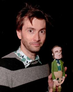 David Tennant voice acting in The Pirates.