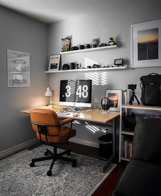 New Home Office Study Apartment Therapy Ideas