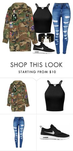 """""""blop"""" by crazibunniz on Polyvore featuring Marc Jacobs, WithChic and NIKE"""