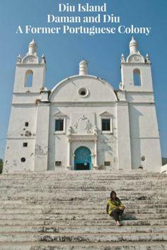 Diu Island - Daman and Diu A Former Portuguese Colony #diuisland #PortugueseColony #beach #india