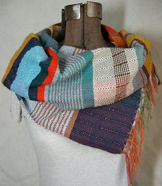 weave me... and use up lots of little bits of leftover colors