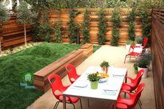 Bahçe düzenlemeleri için fikirler