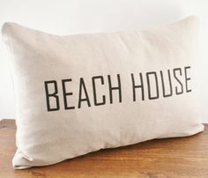 Beach House Linen Cover @Jennifer Iizuka