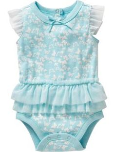 Tutu Bodysuits for Baby