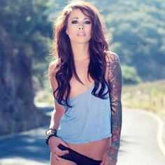 Riley Jensen is a babe though, and her tattoos are wonderful.