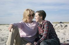 Exclusive first look at Ellen Page and Julianne Moore in the gay-rights drama Freeheld - Recently out Page talks about the joy of her own liberation. Ellen Page, Julianne Moore, Mulholland Drive, Below Her Mouth, Les Innocents, Miley Cyrus News, Garrett Hedlund, Lgbt News, Kissing Scenes