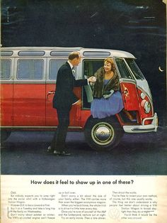 VW Bus, How does it feel to show up in one of these?