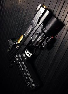 Salient Arms International 1911 w/Trijicon RMR + SureFire X400