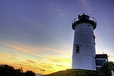 """ Nobska Lighthouse located in Cape Cod. """