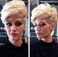 20 Mejores Peinados para el pelo corto //  #corto #mejores #para #Peinados #pelo