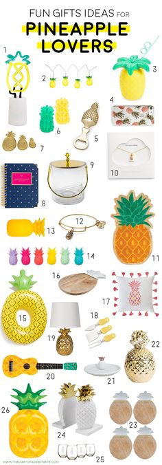 26 fun housewarming gift ideas for pineapple lovers