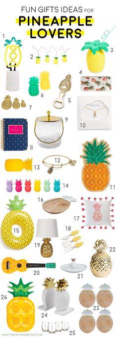 26 fun housewarming gift ideas for pineapple lovers
