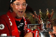 Liverpool boss Jurgen Klopp warns Premier League title rivals they can improve next season   Daily Mail Online Liverpool Fc Managers, Liverpool City, Dominic King, League Gaming, Black Baseball Cap, Best Player, One Team, Champions League, Fifa