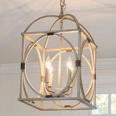 Circle Lattice Hanging Lantern - 4 Light - Shades of Light Lantern Chandelier, Hanging Lanterns, Lantern Pendant, Hanging Lights, Chandelier Lighting, Lantern Lighting, Chandeliers, Hanging Kitchen Lights, Lantern Light Fixture