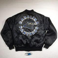 4a8f07207 Carolina Panthers Inaugural Season Satin Jacket