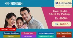 Book Health Checkup #Packages - 50 Tests at Just 1500/- (#Kidney, #Liver, #Thyroid, #Sugar, Cholestrol, #Blood test, #X-Ray/Digital #dental #OPG, #ECG) Get Up-to 50% Off On #Health Checkup at Helvetia Diagnostics. 100% Authentic #Reports. #delhi #southdelhi #healthpackages #healthcare #pathology Book Now: https://goo.gl/9AR7cs