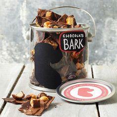 Dark Chocolate Candy Bark