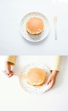 homemade simple pancakes