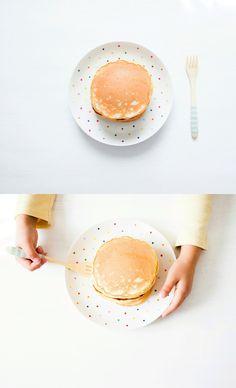 homemade simple pancakes
