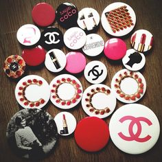 .@leblogdebetty | Rouge Coco badges collection  | Webstagram - the best Instagram viewer