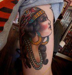 De+Gitana+Gitanos+Mujer+Tattoos+Tattoo+Designs+
