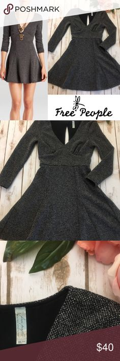 FREE PEOPLE dress Beautiful fit and flare dress by Free People. Size extra small. Excellent condition! Free People Dresses