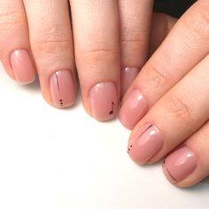 139 the stunning summer nail art designs for short nails page 62 Hair And Nails, My Nails, Nail Art Designs, Gel Nail Polish Colors, Natural Nail Designs, Nagellack Trends, Minimalist Nails, Nagel Gel, Nude Nails