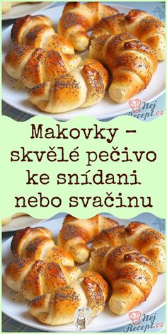 Bread Recipes, Cooking Recipes, Holiday Party Appetizers, Czech Recipes, Keto Bread, Diet And Nutrition, Healthy Baking, Amazing Cakes, Food Videos