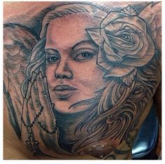 Mexican Girl Tattoo