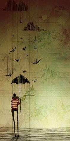 """""""Pensei em todas as escolhas feitas que nos trouxeram até aqui. Pergunto-me porque você optou por elas, será que em nenhum momento você foi capaz de ver esse furacão, ou será que você viu, mas preferiu acreditar que tudo se acalmaria?! Tive tempo ainda de me perguntar como seria se você tivesse a chance de fazer novas escolhas, se você não tivesse optado por entrar nesse furacão."""""""