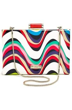 Adore the psychedelic pattern on this Kate Spade clutch xox