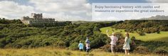 White cliffs of dover tourism website