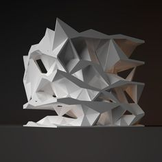 Architectural Model - Oblique Circulation Benjamin Dillenburger