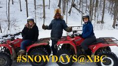 Snow makes for a beautiful ATV tour at eXplore Brown County
