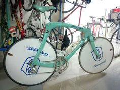 A rare, complete, Bianchi C4 ITALIAN CYCLING JOURNAL: Best Private Bicycle Collection?