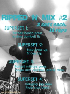 F.i.T.T for Summer… Workout #17: Upper body, shoulders and triceps