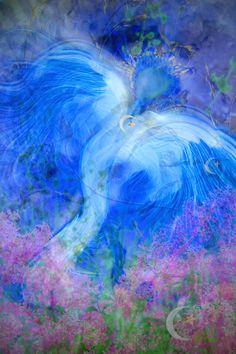 Archangel Israfel | front | Mystic Angels Oracle 33