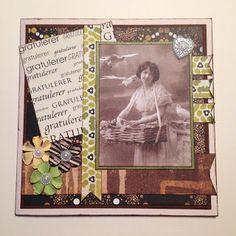 Randis hobbyverden: Vintage bursdagskort