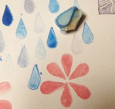 The easiest and most useful stamp handcarved by Natàlia Trias. Thanks to crescendoh.com for the idea