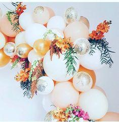Balloon Arch, Balloon Garland, Balloon Decorations, Birthday Decorations, Baby Shower Decorations, Wedding Decorations, Hanging Balloons, Deco Ballon, Tropical Party