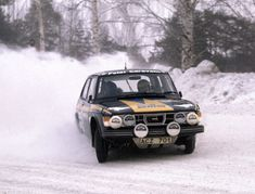 Saab 99 Turbo Rally Car, Stig Blomqvist