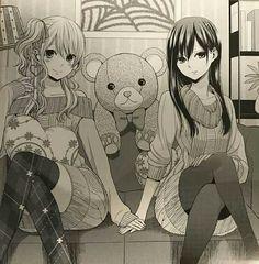 Yuzu y mei | Citrus manga