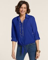 Easy Cotton Tyree Shirt #chicos