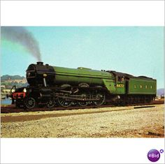 LNER Class A3 Paciffic 4472 Flying Scotsman visiting Dartmouth railway Postcard on eBid United Kingdom