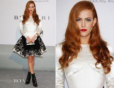 Riley Keough In Louis Vuitton – amfAR Cinema Against Aids Gala