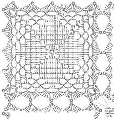 Best seo for the business of interior design crochet filet – Artofit Crochet Square Blanket, Crochet Quilt, Crochet Blocks, Crochet Tablecloth, Crochet Squares, Crochet Home, Thread Crochet, Crochet Granny, Filet Crochet
